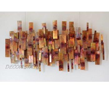 C. Jeré Wall sculpture Indulgence - Copper