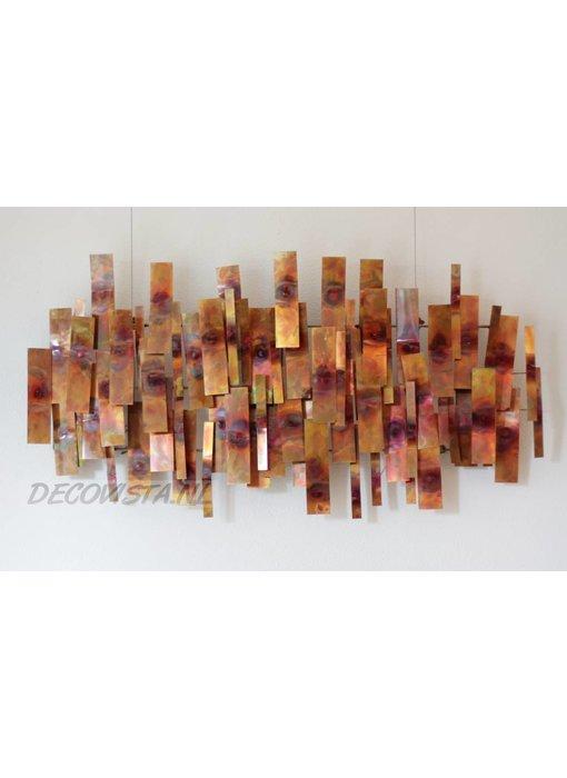 C. Jeré Indulgence - Copper, Wandskulptur
