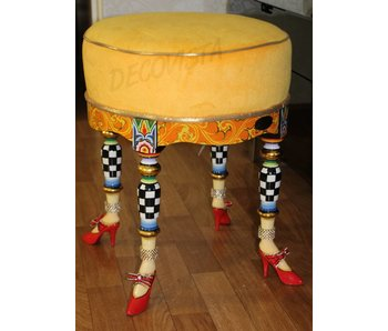 Toms Drag Stool - seat Versailles Collection
