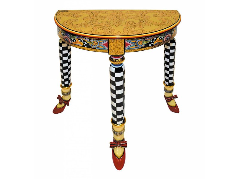 ... Toms Drag Half Round Side Table Versailles ...