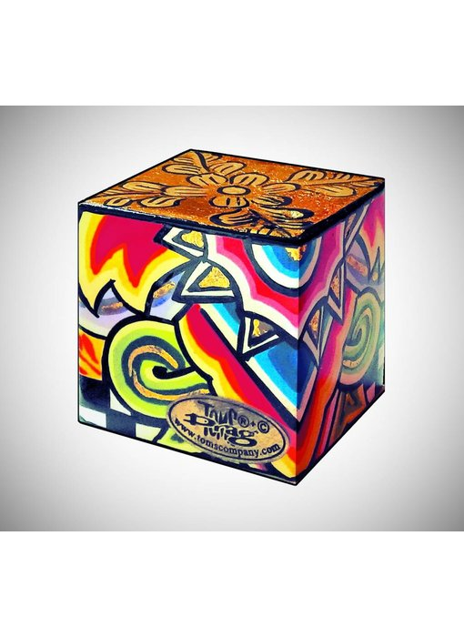 Toms Drag Salt Shaker - Cube (LAST)