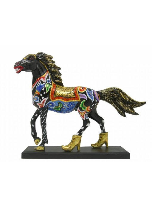 Toms Drag Paard beeldje Black Beauty - S
