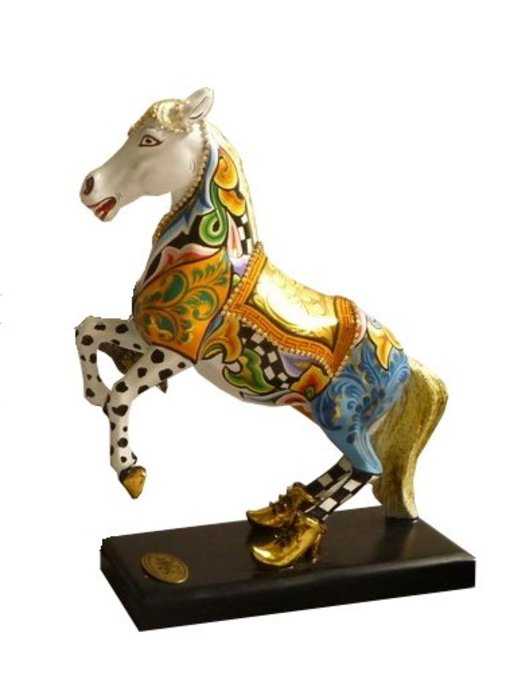 Toms Drag Pferd -White Champion - M
