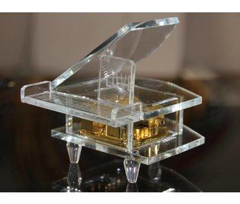 Crystal music box Wedding - Piano