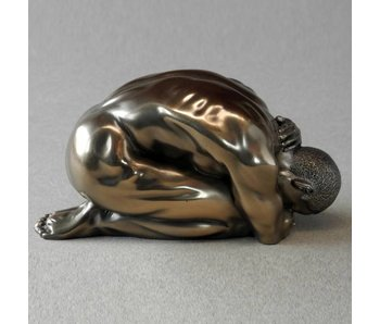 BodyTalk Figurine bodybuilder, kneeling man - S
