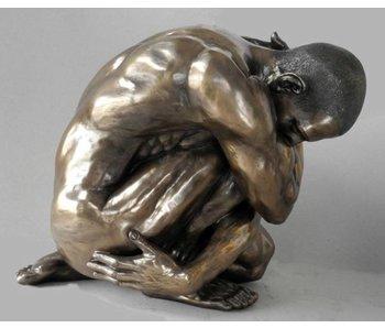 BodyTalk Skulptur männlicher Akt - Wrap - XL