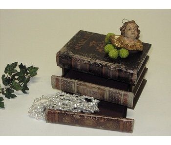 Baroque House of Classics Classic book set with secret compartments - M
