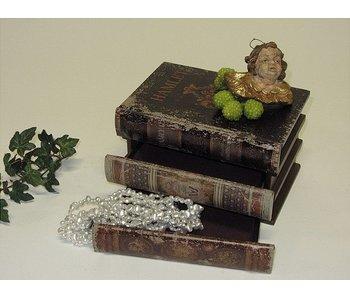 Baroque House of Classics Klassische Bücher mit Geheimfach - M
