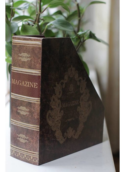 Baroque House of Classics Magazine holder in book style - B