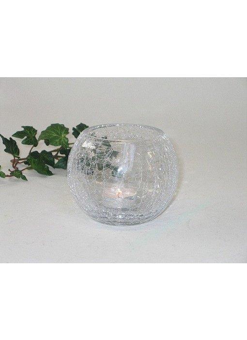 Baroque House of Classics Cup Votive oder Kerzenhalter aus Glas