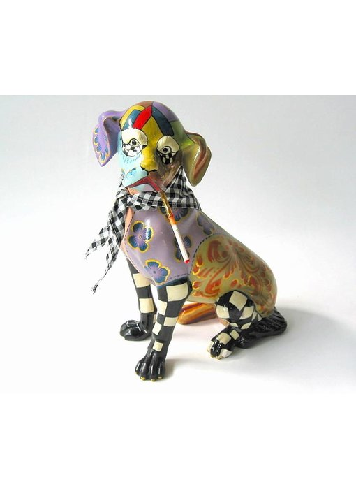 Toms Drag Scottie Dog Figurine - Miniatur