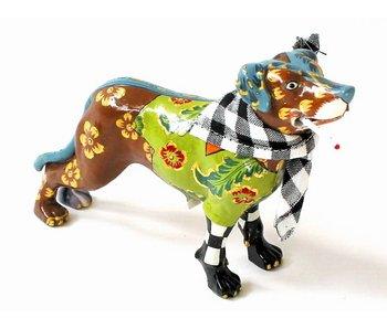 Toms Drag Dog Figurine Kurtie - Miniatur
