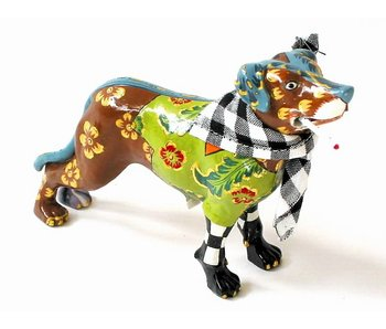 Toms Drag Dog Figurine Kurtie - miniature