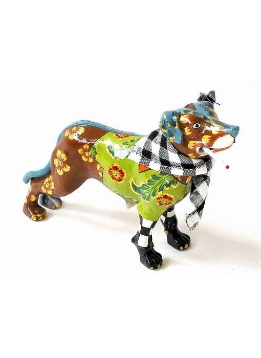 Toms Drag Hondenbeeldje Kurtie - miniatuur