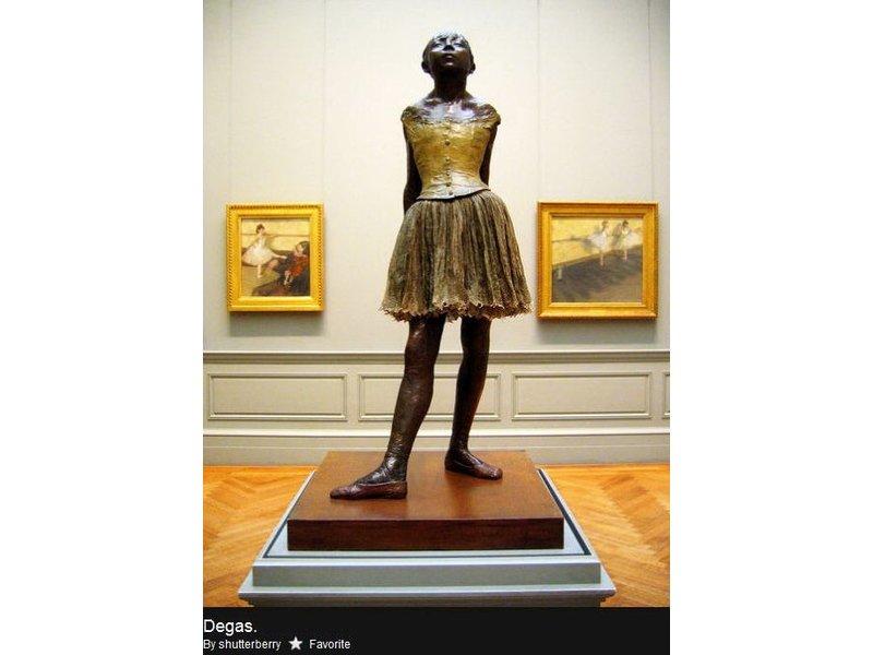 Mouseion Die Kleine Tänzerin, Replikat Ballerina Edgar Degas - 21 cm