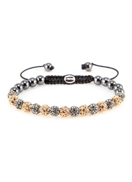 Karma Armband Glamour XS - kristallen