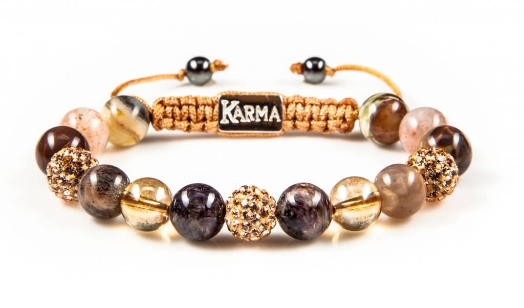 Karma Bracelet Spiral Clic Glamour Night