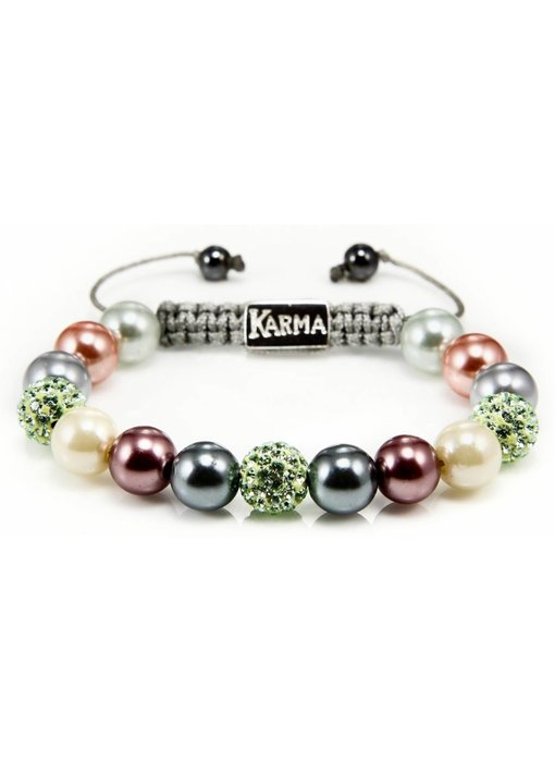 Karma Armband Passion for Pearls, classic