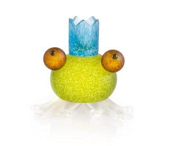 Borowski Glazen Frosch kandelaar - citroengeel