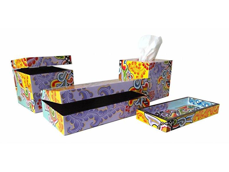 Toms Drag Tissue box - square
