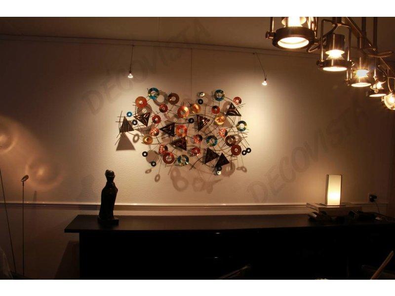 C. Jeré Escultura de la pared del arte - Kaleidoscope