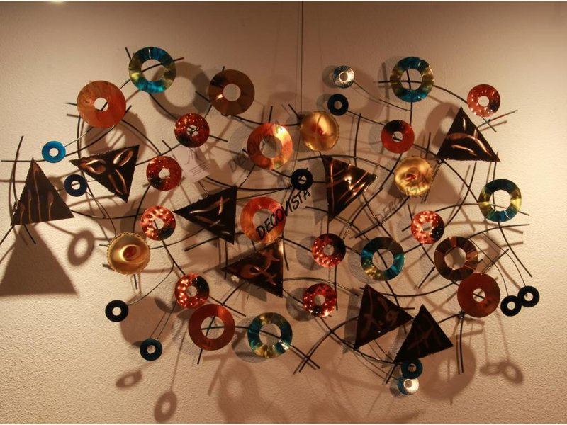 C. Jeré Wall art sculpture - Kaleidoscope