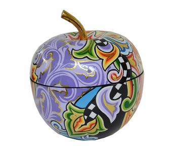 Toms Drag Drag apple-shaped box - L