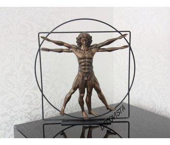 Mouseion The Vitruvian Man, bronze - Large