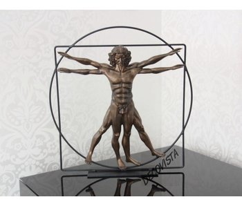 Mouseion Vitruvianischen Mensch - Bronze - Gross