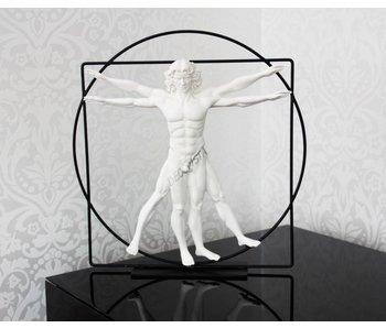 Mouseion The Vitruvian Man, white - Large