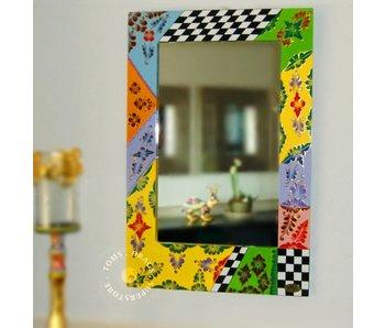 Toms Drag Rechthoekige, vrolijke spiegel  90 cm