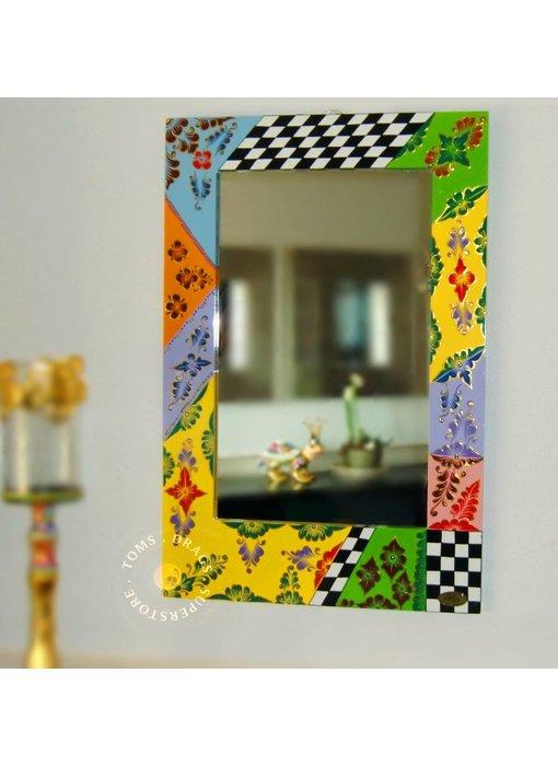 Toms Drag Strakke, rechthoekige  spiegel  90 cm