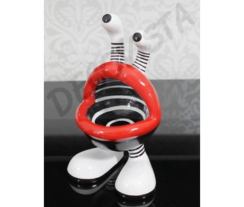 Niloc Pagen Lip Mouth, design B&W, size M