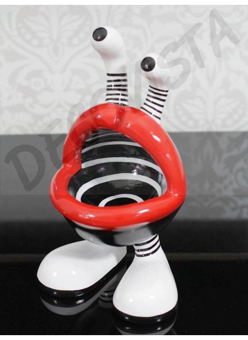 Niloc Pagen Bowl, schaal Lip Mouth - M
