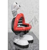 Niloc Pagen Lip Mouth, design B&W, size M