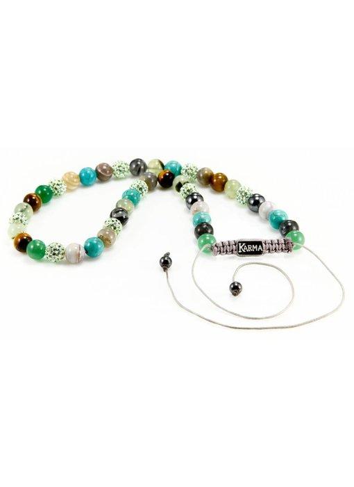 Karma Green Harmony Classic halsketting - Karma