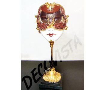 Baroque House of Classics Mask on stand - baroque style classic