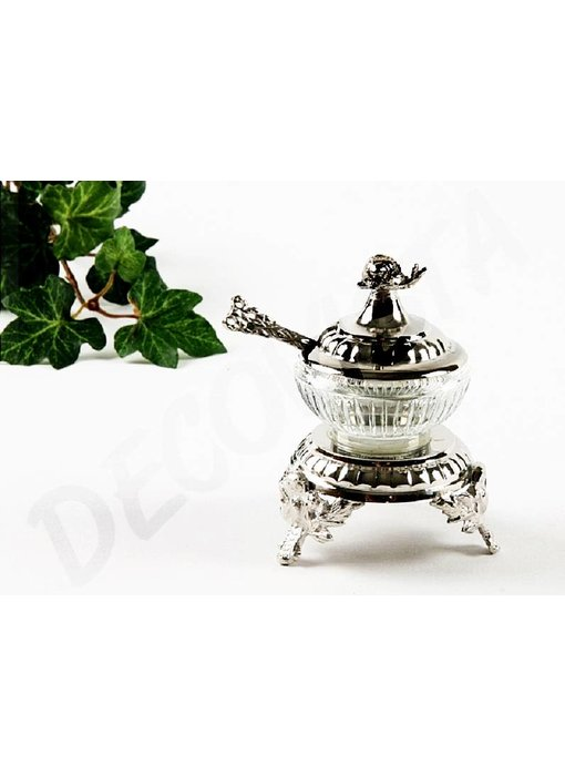 Baroque House of Classics Pepper or Salt Jar with spoon