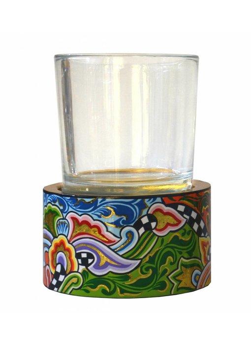 Toms Drag Teelicht mit Glas - ML