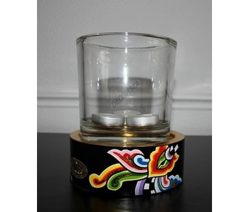 Toms Drag Theelicht houder met glas - SL