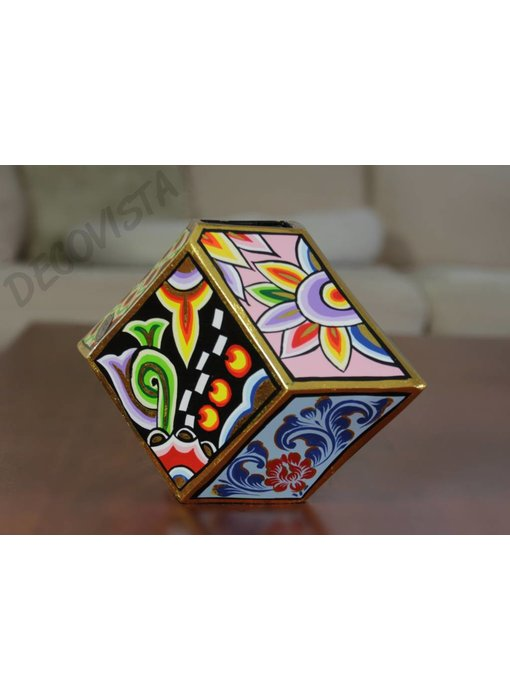 Toms Drag Vase - Cubist style - M