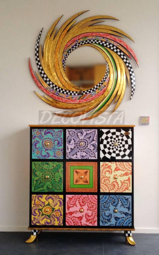 Toms Drag Madera cómoda 9 cajones - DecoVista - decoración de interiores