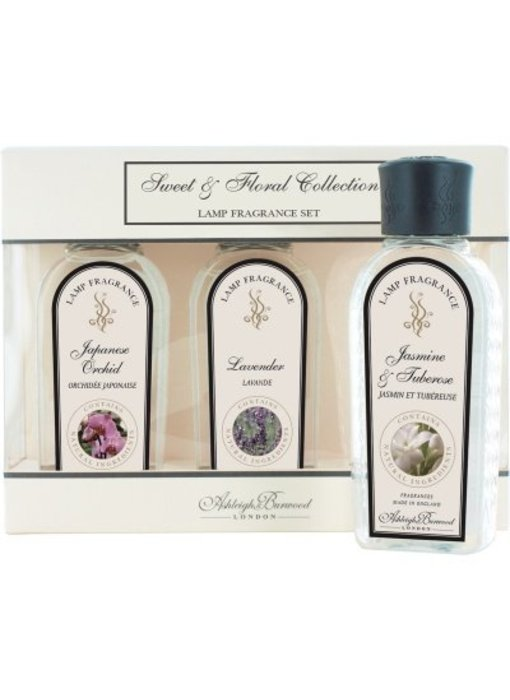 Ashleigh & Burwood Sweet & Floral collectie - 3 flakons