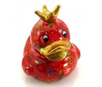 Pomme-Pidou Spardose Ente, King Ducky