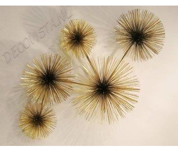 C. Jeré Escultura de pared Urchin (Pom Pom)