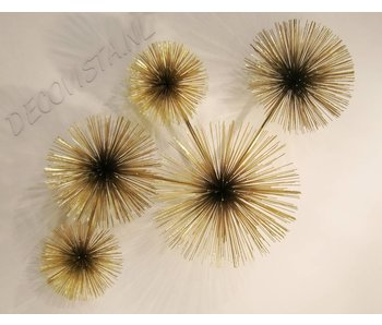 C. Jeré Urchin Pom Pom Wall Art sculpture by C. Jeré