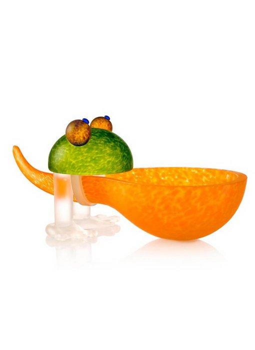 Borowski Frosch bowl, orange