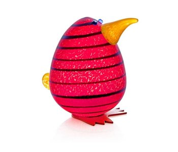 Borowski Kiwi Egg Paperweight, red