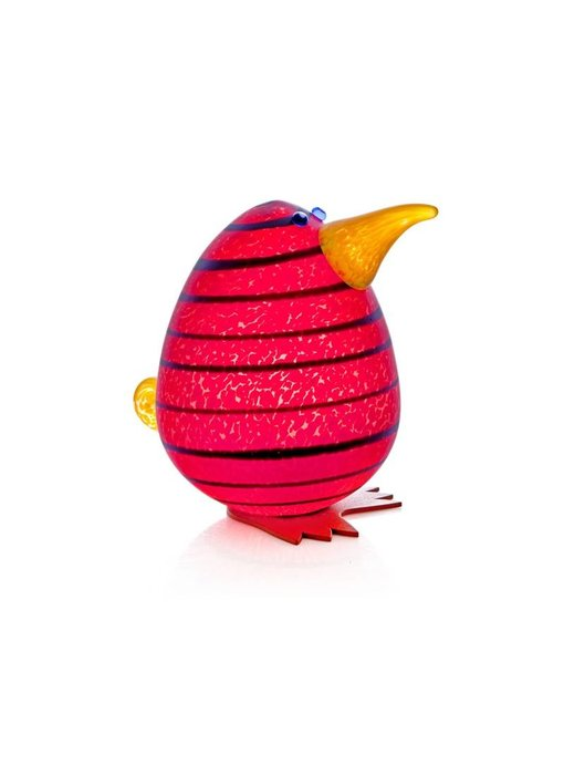 Borowski Kiwi Egg Paperweight, red