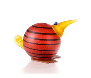 Borowski Kiwi paperweight, red